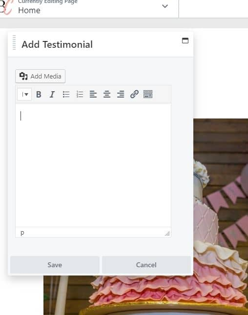Adding a Sliding Testimonial to your Website