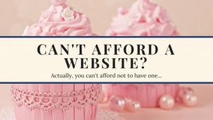 Can't afford a website?